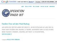 Operation Diner Out