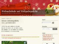 Weihnachtslieder und Weihnachtsgedichte