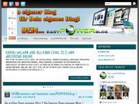 Dein easyPOWERblog