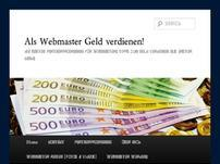 Als Webmaster Geld verdienen