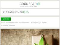 Grünspar Blog