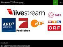 Livestream TV-Übertragung