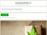 Grünspar Österreich Blog