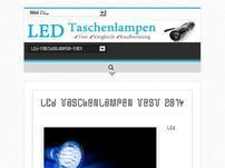 LED Taschenlampen Test