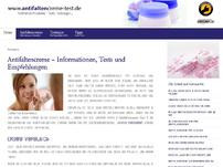 Antifaltencreme Informationen