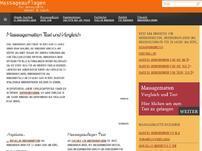 Massageauflagen Test Büro zu Hause