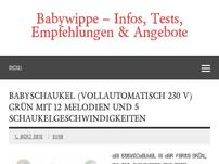 Babywippe – Tests