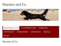 Haustiere und Co.