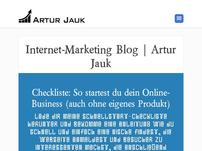 Internet-Marketing Artur Jauk