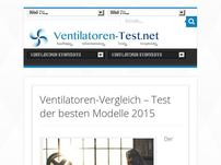 Ventilatoren-Test