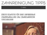 Zahnreinigung Tipps