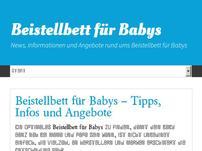 Beistellbett für Babys