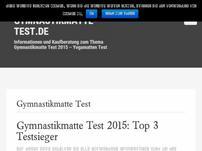 Gymnastikmatte-Test.de