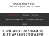 Crosstrainer Reviews und Infos
