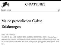 C-date Erfahrungen