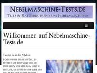 Nebelmaschine-Tests