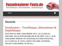 Fusselrasierer-Tests