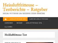 Tests & Ratgeber Heissluftfritteuse