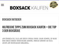 Boxsack kaufen 2016 + Testsieger