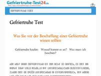 Gefriertruhe-Test24