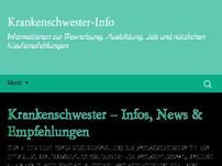 Krankenschwester-Info-Portal