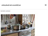 Einbauherd mit Ceranfeld