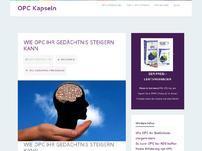 Der Traubenkernextrakt (OPC) Blog