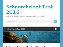 Schnorchelset Test