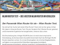Wlan Router Test ++ Router Test