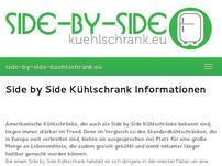 Side by Side Kühlschrank
