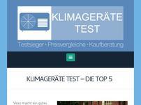 Klimageräte Test