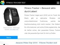 Fitness Tracker Test