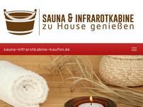Sauna und Infrarotkabine
