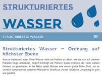 Strukturiertes Wasser