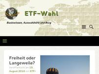 ETF-Wahl