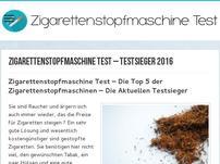 Zigarettenstopfmaschine Test