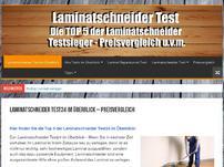 Laminatschneider Test