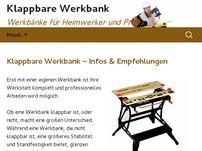 Klappbare Werkbank