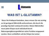 Alle Infos über L-Glutamin