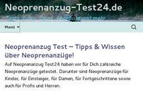 Neoprenanzug Test