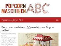 Popcornmaschinen-ABC