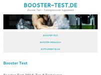 Booster Test Fitnessblog