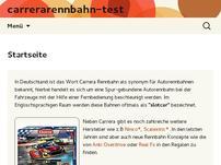 Carrera Rennbahn test