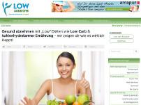 Gesund abnehmen mit Low-Diäten