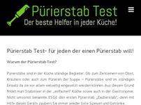 Pürierstab Test