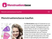 Menstruationstasse kaufen