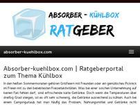 Absorber-Kühlboxen mit 12v