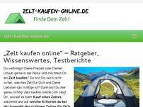 Zelt kaufen Online
