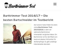 Barttrimmer Test