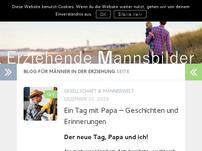 Blog für Männer in der Erziehung